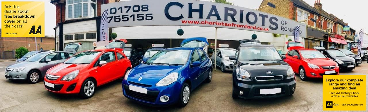 Used cars for sale @ Chariots UK